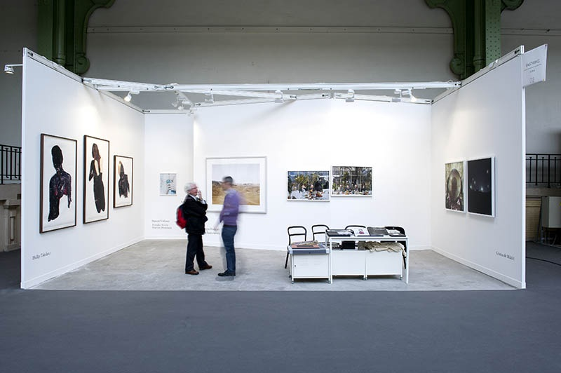 East Wing gallery stand at Paris Photo fair, 2013.